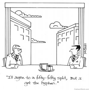 hyphen cartoon